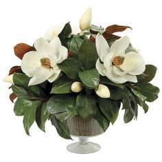 I pinned this Faux Magnolia Arrangement II from the Winward event at Joss and Main!