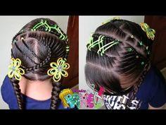 Girl Hairstyles, Female Hair, Hair Styles, Beauty, Videos, Anime, Hairstyles Wavy Hair, Pig Tails, Girls Hairdos