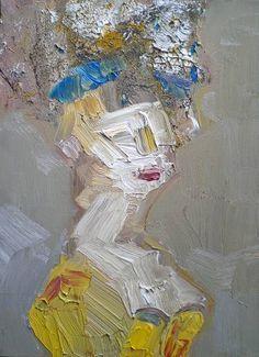 "Saatchi Art Artist Fabienne Jenny Jacquet; Painting, ""Yellow Countess"" #art"