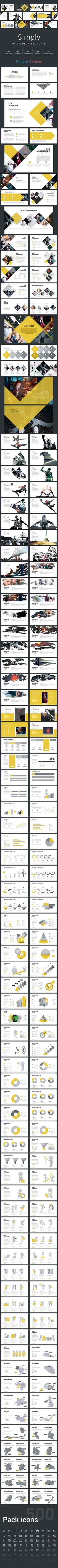 Simply Pitch Deck Keynote Template