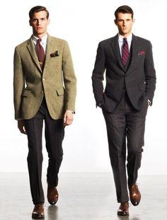 RL Sack Suits. Need bigger lapels.