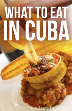 There are lots of places to eat in Cuba ranging from high-end restaurants to private houses to street food.  Here's the skinny. #cuba #cubatravel #foodincuba