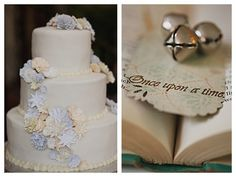 Beautiful cake...cute decoration