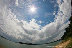 虹 魚眼 - Google 検索 Fisheye Lens, Clouds, Outdoor, Outdoors, Outdoor Games, Cloud