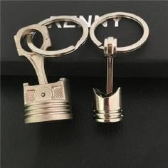 1pcs Metal KeyChain Key Ring Accessories Car Products Compatible Fit For USA Auto Model Dodge Conti