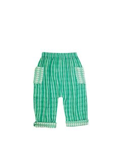 mini pant | holland stripe with tile