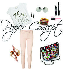 Our summer outfit with Paper Concept Bag <3