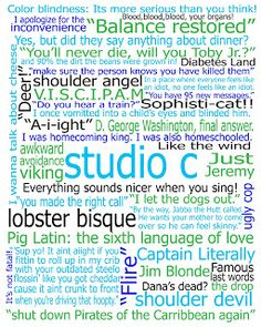 Free Studio C poster for those studio c fans out there. Print at Costco 16x20 or 8x10 for a great gift!!!! Jennie's Journal: Free Studio C poster!!