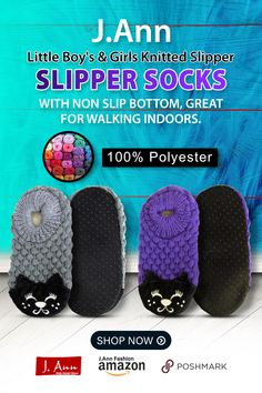 100% Polyester J.Ann-Toddler Little Kids Knitted Slipper Socks with Animal Face Material : 100% polyester., With non slip bottom, great for walking indoors. Size ( Bottom Flat Length Measurement): Small ( 13-14cm), Medium ( 15-16cm), Large (17-18cm) ** Please see measurements when ordering your size. Very Cozy, Great to keep kids feet cozy and warm Color: Refer to picture for styles available. Color may slightly varies due to photographic lightings. Little Boy And Girl, Little Boys, Boy Or Girl, Knitted Slippers, Slipper Socks, Business Planner, Business Tips, Eid Gift, Length Measurement