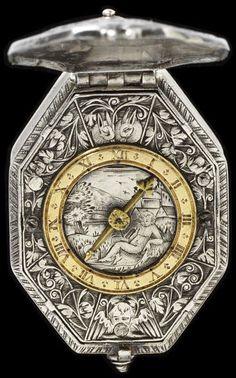 Watch  Place of origin: Blois, France (made)  Date: 1615 (made)  Artist/Maker: Perras, Charles (watchmaker)