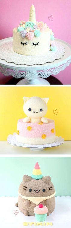 Creative baker Susanne Ng crafts cute and cuddly stuffed animal cakes. Each fluffy cake is as adorable as it is delicious!