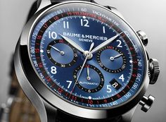 Chronograph Watches for men - buy Baume & Mercier Capeland Dream Watches, Luxury Watches, Cool Watches, Watches For Men, Men's Watches, Wrist Watches, Stylish Watches, Baume Mercier, Tag Heuer