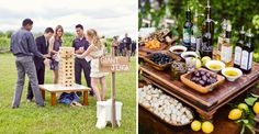 Promote mingling any way you can. The more that people get to know one another, the better the wedding will be. One way to do this is to provide name tags, games, or even food or drink stations.