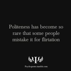 bring politeness back!