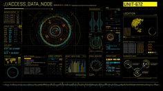 Futuristic User Interface on Behance