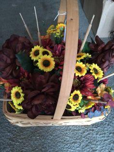 Large Fall Basket - $35