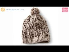 Crochet Stepping Texture Hat Tutorial - YouTube