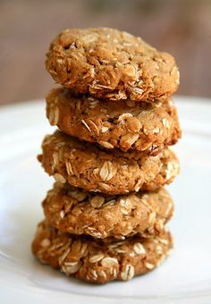 Full of sweet peanut-buttery goodness, you wouldn't even know these scrumptious cookies are made without a pinch of flour. Instead, they feature gluten-free oats and other ingredients you probably already have in your kitchen. Bonus: they cook up golden brown in less than 10 minutes. Photo: Jenny Sugar