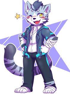Yiff Furry, Anime Furry, Cute Cartoon Animals, Anime Animals, Cartoon Art, Character Art, Figure Drawings, Fantasy Art, Furry Art