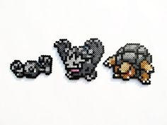 Geodude / Graveler / Golem by ShowMeYourBits on deviantART