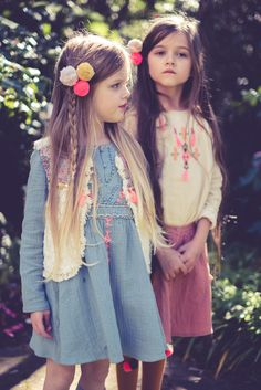 Beatiful, soft tones in Louise Misha. Little Fashion, Kids Fashion, Fashion Outfits, Louise Misha, French Collection, Girls Dresses, Baby Dresses, Cute Necklace, Beautiful Outfits