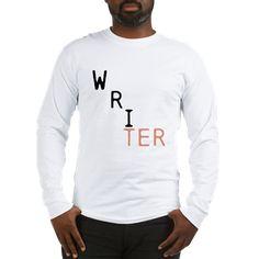 WRITER - 2 font colors Long Sleeve T-Shirt