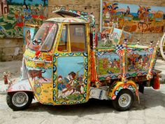 Siciliana carrito moderna