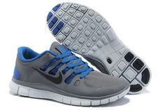 official photos 52d06 a06fd 2013 New Mens Nike Free Grey Blue Black Shoes Sports Shoes Store