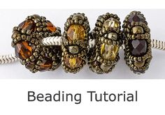 This 7 page tutorial will take you step-by-step through the process of making one of these beautiful beaded charm beads using 21 clear colour photographs detailing the instructions. The finished beads are 21mm in diameter and 10mm in thickness, with a 5mm diameter central hole.  This tutorial is suitable for beginners and experienced beaders alike and should take approximately 30 minutes to make each bead. When you purchase this tutorial, you will be able to automatically download it from…