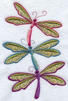 Buzzing Dragonflies Stack