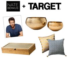 A Sneak Peek at the Upcoming Nate Berkus for Target Collection. Woah, these look pretty good.