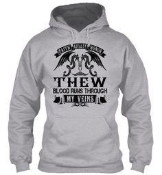 THEW - My Veins Name Shirts #Thew