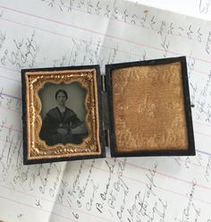 My Vesties Wish List Item - Daguerreotype Lady Tin Type  1800's Photography by GardenBarn
