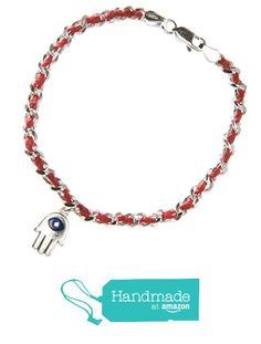 Red String Hamsa and Evil Eye Bracelet for Luck, Protection and Good Fortune in Sterling Silver from Alef Bet Jewelry | Paula's Jewels https://www.amazon.com/dp/B01M21XYYN/ref=hnd_sw_r_pi_dp_0oPAyb33ANSK3 #handmadeatamazon