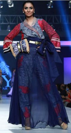 #HSY 'INK' Collection at #PFDC Sunsilk Fashion Week 2015