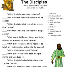 Free Christian Bible activities: worksheets, quizzes, puzzles, and lessons for parents and teachers. Teach your children more about the Bible. Bible Activities For Kids, Bible Study For Kids, Sunday School Activities, Bible Lessons For Kids, Sunday School Crafts, Sabbath Activities, Kids Bible, Primary Lessons, Sunday School Teacher