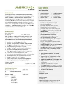 Human Resources Assistant Resume Sample Professional Resume Template Cover Letter For Ms Word Best Cv .
