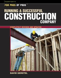Running a small business can be daunting to the contractor whose expertise is in building -- not finance or law. This book helps to demystify the day-to-day challenges that contractors face. Running a
