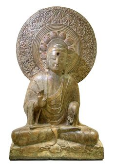 Buddhist sculpture at the V&A - Victoria and Albert Museum