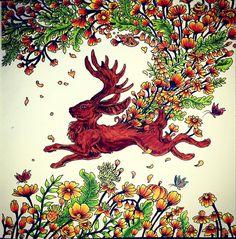 Book:  Mythomorphia Artist:  Kerby Rosanes Media:  Zig brushables, colored pencils#creative#coloringbook#coloring#adultcoloringbook#adultcoloring#kerbyrosanes#mythomorphia