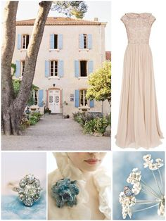 Spring+Flush++Dusky+Blue+and+Blush+Wedding+Inspiration+Board