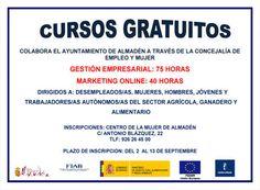 Cursos gratuitos y homologados, El Excmo. Ayuntamiento de Almadén