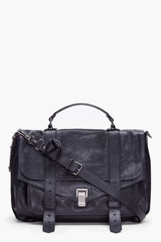 Proenza Schouler Ps1 Large Black Satchel. Please!