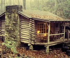 Cabin in the Wood. Great Smokey Mountains