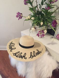 This stylish lightweight floppy sun hat will add a touch to your summer wardrobe! Be fashionable and protected the same time. Grate deal ;)  Line could