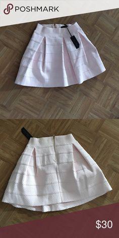 Skirt Cute pink Skirt Honey Punch Skirts Mini