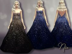 Olivia Wilde's Sequined Gown by Nia at TSR via Sims 4 Updates