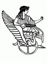 33 meilleures images du tableau coloriages mythologie coloring pages greek mythology et god - Lulu l escargot coloriage ...