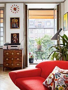 Josef Frank touch in modern interior