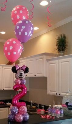Minnie Mouse Birthday Balloon Party Theme ~ Tulsa, OK